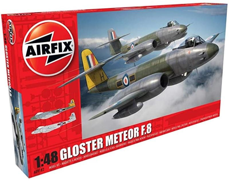Airfix 1/48 scale Gloster Meteor F.8